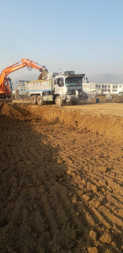On going project Defense Complex Islamabad
